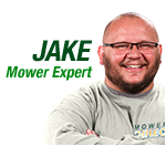 Jake, The Mowers Expert