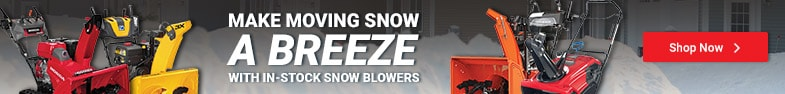 In-Stock Snow Blowers