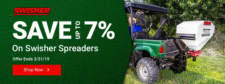 Swisher - Up to 7% Off Spreaders