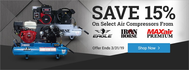 Multibrand - 15% Off Select Air Compressors
