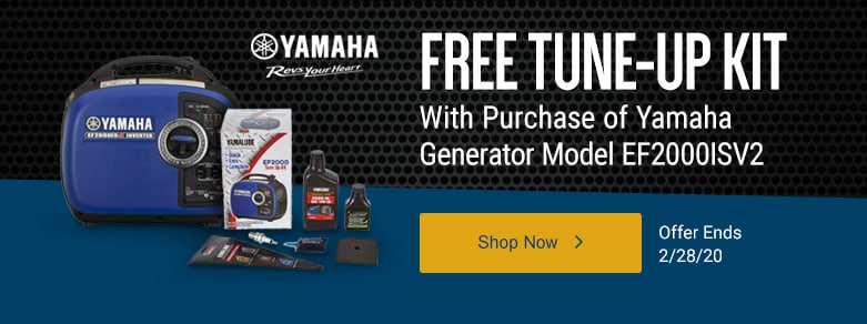 Yamaha - Free Tune-Up Kit & Cover w/Inverter Purchase