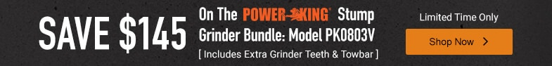 PowerKing - Save up to $300 on Select Chippers