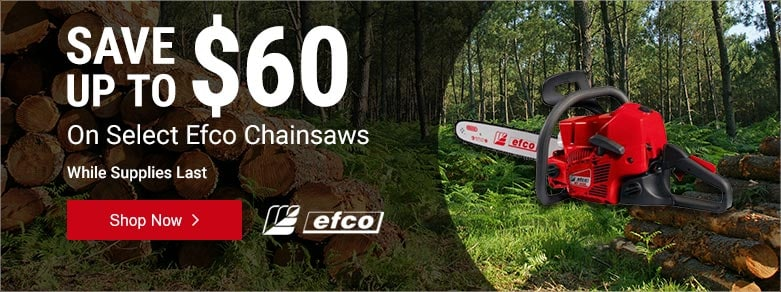 Efco - Up to $60 Off Select Chainsaws