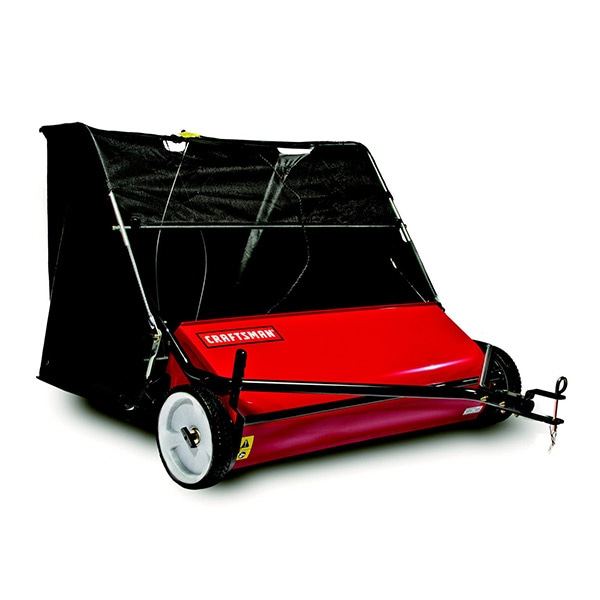 "Craftsman (42"") 22 Cubic Foot High Speed Tow-Behind Lawn Sweeper"