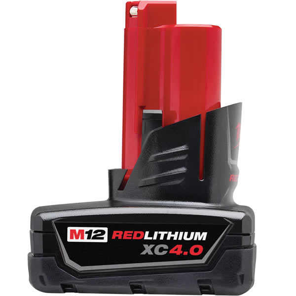 Milwaukee 48-11-2440 - M12� REDLITHIUM� XC 4.0 Extended Capacity Battery Pack