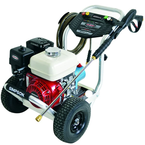 Simpson Professional 3200 PSI (Gas - Cold Water) Aluminum Frame Pressure Washer w/ Honda Engine & CAT Pump