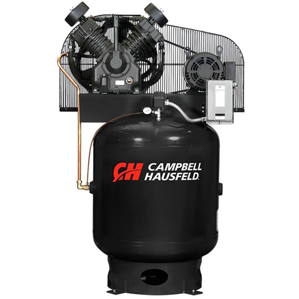 Campbell Hausfeld Commercial 10-HP 90-Gallon Two-Stage Air Compressor (230V 3-Phase) w/ Starter