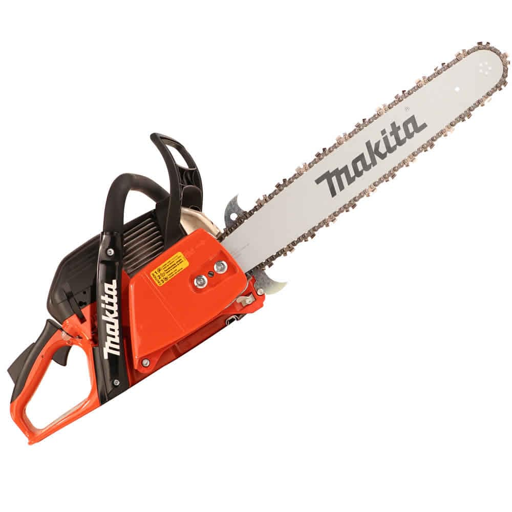 Cold Starting a Gas Chainsaw