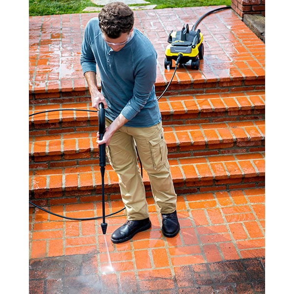 The Follow Me Turbo Wand makes cleaning hard surfaces a breeze