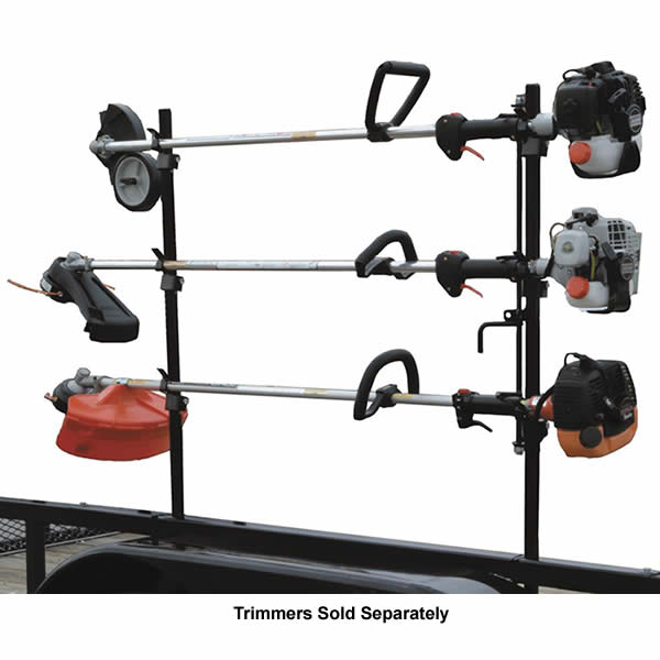 Buyers Products Lockable Trimmer Rack For Open Trailers
