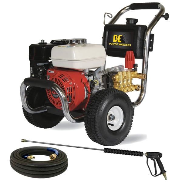 BE Semi-Pro 2500 PSI (Gas Cold Water) Pressure Washer w/ Honda Engine
