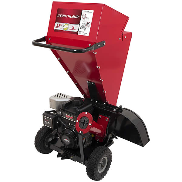"Southland (2.5"") 205cc Chipper / Shredder With Briggs & Stratton Engine"