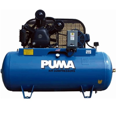 Puma 10-HP 120-Gallon Two-Stage Air Compressor (230V 3-Phase)