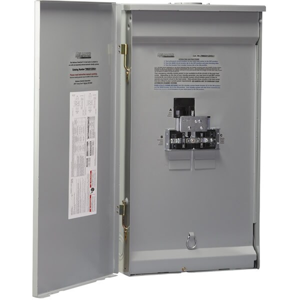Reliance Controls 150-Amp Utility/30-Amp Generator Outdoor Manual Transfer Panel