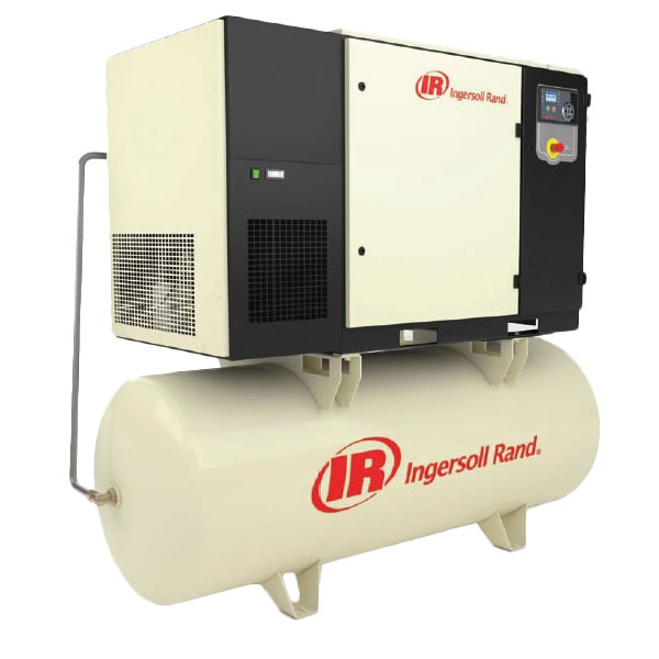 Ingersoll Rand 20-HP 240-Gallon Rotary Screw Air Compressor (208V 3-Phase 125 PSI)