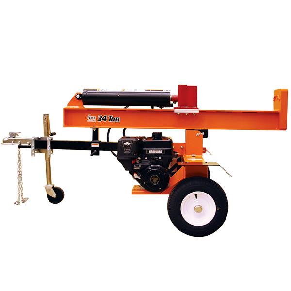 Brave 34 Ton Vertical/Horizontal Gas Log Splitter
