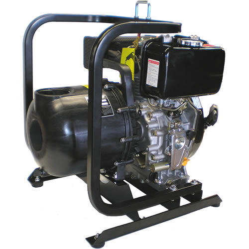 "Pacer SE3SLE5DLC - 280 GPM (3"") Econo-Ag Diesel Water Pump"