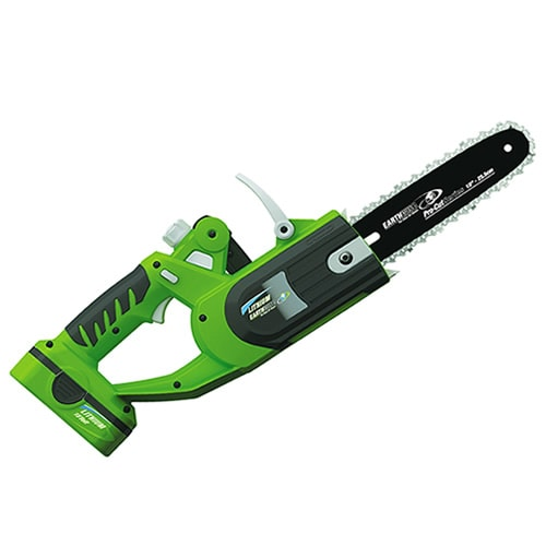 "Earthwise (10"") 18-Volt Cordless Lithium Chain Saw"