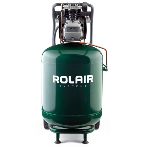 Rolair 2-HP 24-Gallon (Direct Drive) Cast-Iron Air Compressor