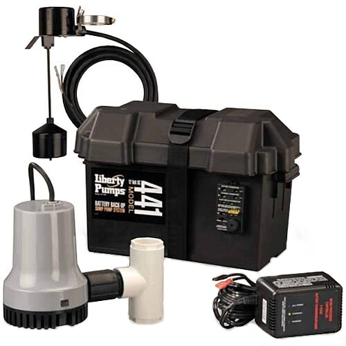 Liberty Pumps 441 - Battery Back Up Sump Pump System (1830 GPH @ 10')