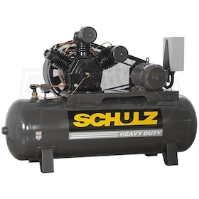Schulz V-Series 10120HW40X-3 10-HP 120-Gallon Two-Stage Air Compressor (230V 3-Phase)
