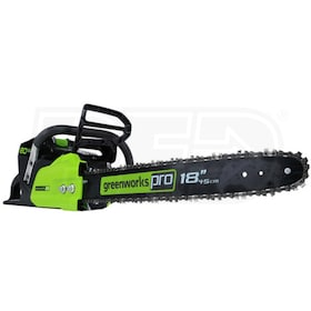 "Greenworks PRO (18"") 80-Volt Lithium-Ion Cordless Chain Saw (Tool Only - No Battery)"