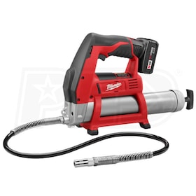 Milwaukee 2446-21XC - M12 Grease Gun Kit w/1 Extended Capacity Battery