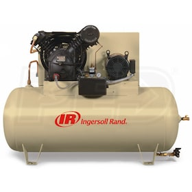 Ingersoll Rand 10-HP 120-Gallon Two-Stage Air Compressor (208V 3-Phase) Value Plus Package
