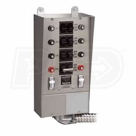 Reliance Controls 30-Amp (120/240V 8-Circuit) Indoor Transfer Switch