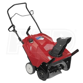 "Troy-Bilt Squall 2100 (21"") 208cc Single-Stage Snow Blower w/ Electric Start"