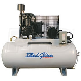 BelAire 7.5-HP 80-Gallon Two-Stage Air Compressor (460V 3-Phase)