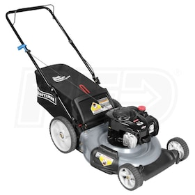 "Craftsman (21"") 140cc Rear Bag Push Mower"