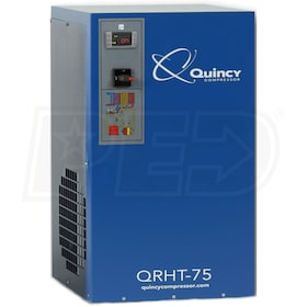 "Quincy QRHT 75 3/4"" High Temperature Non-Cycling Refrigerated Air Dryer (75 CFM)"