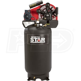 NorthStar 5-HP 80-Gallon Two-Stage Air Compressor (230V 1-Phase)