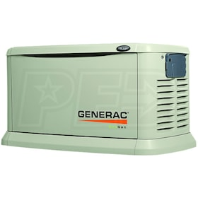 Generac EcoGen Series 6103 - 15kW Standby Generator for Off Grid Applications