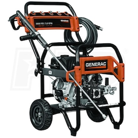 Generac Semi-Pro 3800 PSI (Gas - Cold Water) Pressure Washer