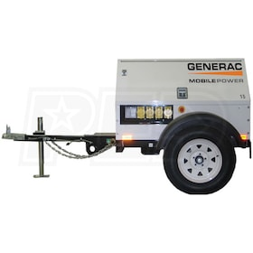 Generac MLG15 - Mobile Lite 13kW Towable Diesel Generator