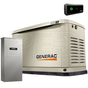 Generac Guardian™ 20kW Standby Generator System (200A Service Disconnect + AC Shedding)
