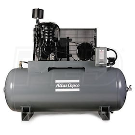 Atlas Copco AR5 5-HP 80-Gallon Two-Stage Air Compressor (208/230V 3-Phase)