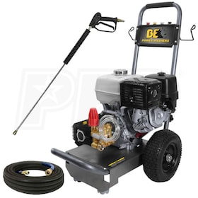 BE Professional 3800 PSI (Gas - Cold Water) Pressure Washer w/ Honda Engine