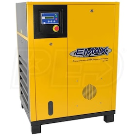 EMAX 7.5-HP Rotary Screw Air Compressor (208/230V 1-Phase)