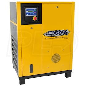 EMAX 15-HP Rotary Screw Air Compressor (230V 1-Phase)