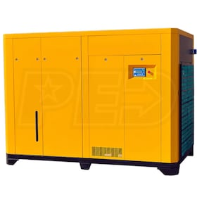 EMAX 125-HP Rotary Screw Air Compressor (460V 3-Phase)