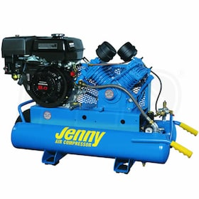Jenny 8-HP 8-Gallon Gas Wheelbarrow Air Compressor w/ Honda Engine