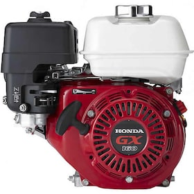 "Honda GX160™ 163cc OHV Horizontal Engine, Oil Alert System, Tapered (Generators) 3/4"" x 2-53/64"" Crankshaft"