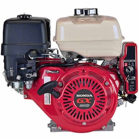 "Honda GX240™ 270cc OHV Electric Start Horizontal Engine, Oil Alert System, 1"" x 3-31/64"" Crankshaft"