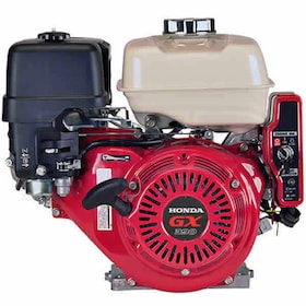 "Honda GX390™ 389cc OHV Electric Start Horizontal Engine, Oil Alert, 3A Charging, 1"" x 3-31/64"" Crankshaft"