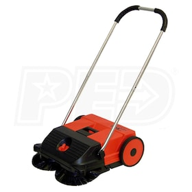 "Haaga (21"") Dual Brush Push Power Sweeper"