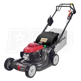"Honda HRX217HZA (21"") 186cc Self-Propelled Electric Start Lawn Mower w/ Blade Brake Clutch"
