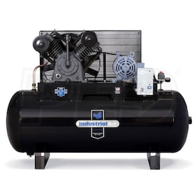 Industrial Air 10-HP 120-Gallon Two-Stage Air Compressor (230V 3-Phase)